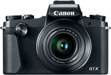 Canon Powershot G1X Mark III Digitalkamera - Schwarz