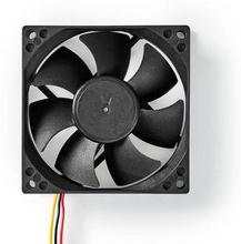 Nedis Kylfläkt för dator | DC | 80 mm | 3-stifts | Tyst