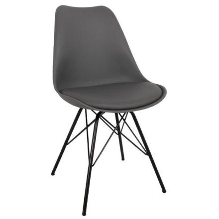 Esszimmerstuhl Grau | Schalenstuhl - Comfort