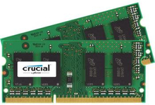 Crucial 8GB (2-KIT) DDR3 1866MHz CL13 SODIMM 1.35V/1.5V Single Ranked