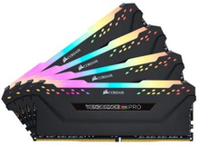 Corsair Vengeance PRO 32GB (4-KIT) DDR4 3200MHz CL16 Black RGB