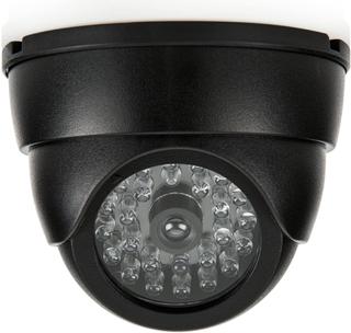 SEC24 udendørs dummy-kamera 2 stk. kuppel sort DMC430 9,5 x 6,5 cm