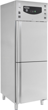 Industrikøleskab/Fryseskab - stål - 474 liter