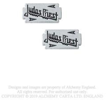 Judas Priest: Stud Earrings/Razor Blade