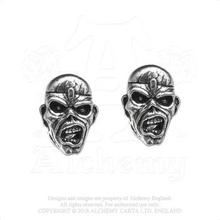 Iron Maiden: Stud Earrings/Piece of Mind Eddie