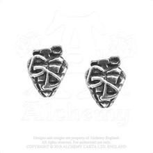 Green Day: Stud Earrings/Grenade