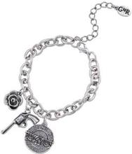 """Guns N""""' Roses: Bracelet/Triple Charm"""