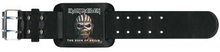 Iron Maiden: Leather Wrist Strap/The Book of Souls
