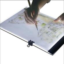 Tegneplade LED Bagbbelyst A4