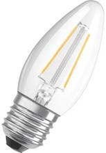 Osram Parathom Retro LED Kron4W/827 (40W) E27 - Klar