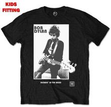 "Bob Dylan: Kid""'s Tee/Blowing in the Wind (Retail Pack) (1-2 år)"