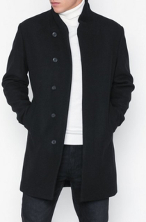 Premium by Jack & Jones Jprnewgotham Wool Jacket Sts Jakker Svart