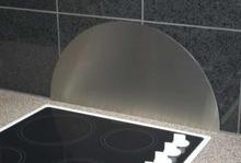 Millarco Veggplate Buet 600x300mm. Børstet rustfritt stål