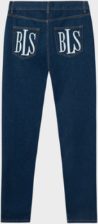 Classic Logo Denim Jeans Blue