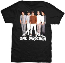 One Direction: Ladies Tee/New Standing with Skinny Fitting (Large)