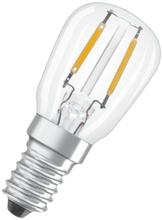 Osram Parathom LED Päron 1,3W/827 (12W) E14 - Klar