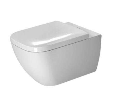 Duravit Happy D.2 Rimless vegghengt toalett m/skjult montering, hvit