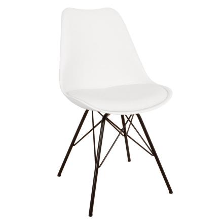 Esszimmerstuhl Weiß | Schalenstuhl - Comfort