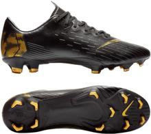 buy popular e2941 68ea9 Nike Mercurial Vapor 12 Pro FG Black Lux - Svart Guld