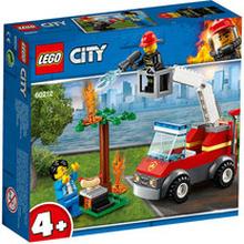 60212 City Fire, Grillbrand