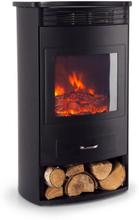 Bormio elektrisk kamin 950/1900W termostat veckotimer svart