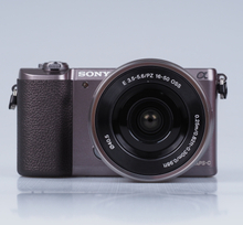 Sony Alpha 5100 Systemkamera mit 16-50mm Objektiv (Englisch Version) - Braun