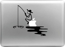 HAT PRINCE Snygg Dekal Klistermärke Macbook Air/Pro - Fiskare