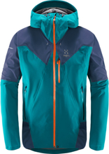 Haglöfs L.I.M Touring PROOF Jacket Herr alpine green/tarn blue S 2018 Skidjackor