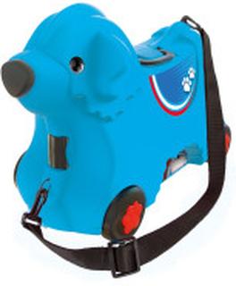 BIG - Blå Resväska Hund