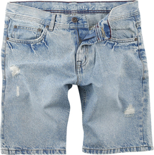 Shine Original - Loose Fit Denim Shorts -Shorts - blå