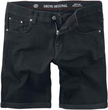 Shine Original - Regular Fit Denim Shorts -Shorts - svart