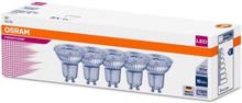 Osram Parathom LED PAR16 4,3W/827 (50W) 36° GU10, Pakke á 5 stk.