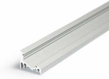 Aluminiumsliste Model C til LED bånd i aluminium - 1 meter