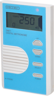 Seiko DM-71 Metronome Blue