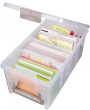 ArtBin Plastlåda till tillbehör Transparent 37,5x20x16,5cm