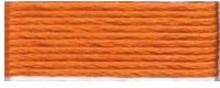 DMC Mouliné Spécial 25 Broderigarn 3853 Dämpad Orange