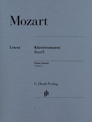 Henle Verlag Mozart Piano Sonatas Vol.1