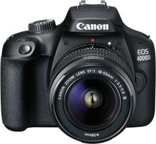 Canon EOS 4000D Kit mit 18-55 III Objektiv SLR-Digitalkamera Gehäuse