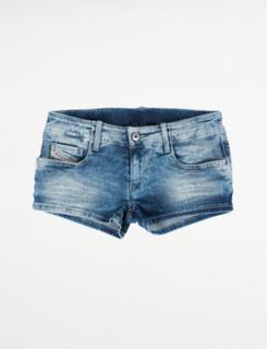 Diesel, PRIRAZ-N SHORTS, Blå, Shorts till Pige, 12 år