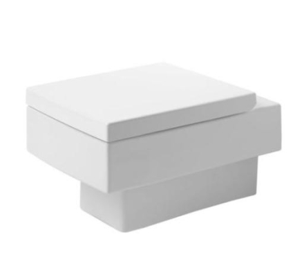 Duravit Vero vegghengt toalett m/wondergliss, hvit