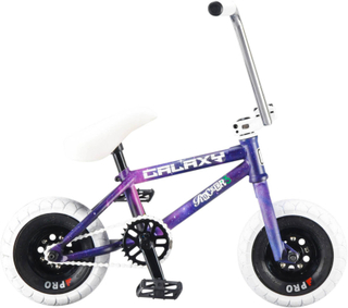 Rocker Reggie Galaxy Mini BMX Cykel Lila