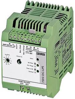 Järnväg-montera UPS (DIN) Phoenix Contact MINI-DC-UPS/12DC/4