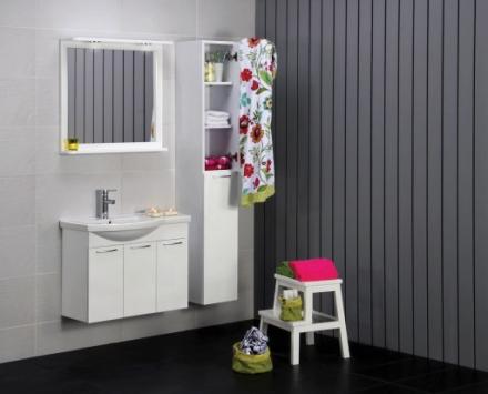Noro Fix 750 Spejl hvid højglans - '7340032412796