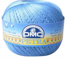 DMC Petra nr. 5 Virkgarn Unicolor 5798 Jeansblå