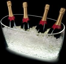 Champagnekylare Vasque Nice med 54 ledlampor