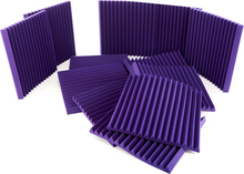 "Auralex Acoustics 2"""" Studiofoam Wedges Purple"