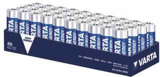 Alkaliska Batterier AA 1.5 V High Energy 4-Shrink Pack