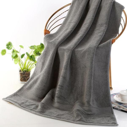 Badehåndkle 70 x 140cm - Grå