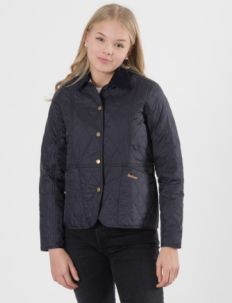 Barbour, SUMMER LIDDESDALE, Blå, Jakker/Fleece för Jente, XL