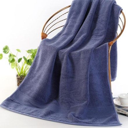 Badehåndkle 70 x 140cm - Blå